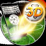3D Football Theme Icon
