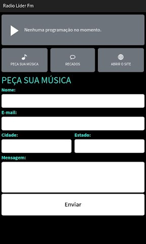 android Radio Lider Fm Screenshot 1