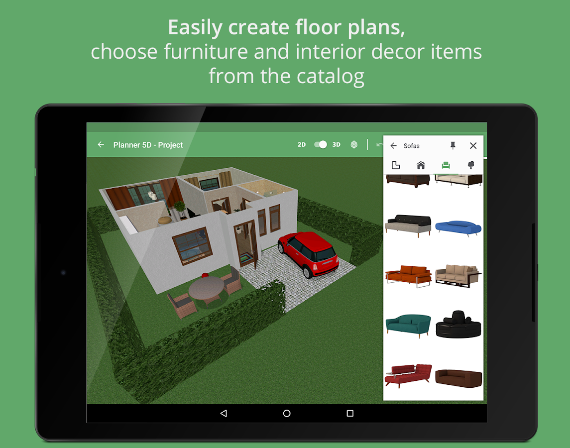 Planner 5d home interior design creator android apps Blueprint creator app