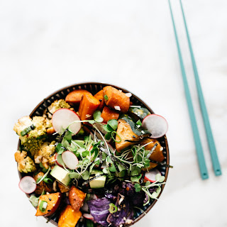 Roasted Winter Vegetable Bowl.