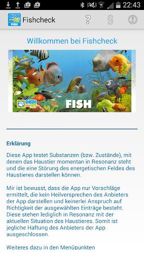 Fishcheck Mein Aquarium testen