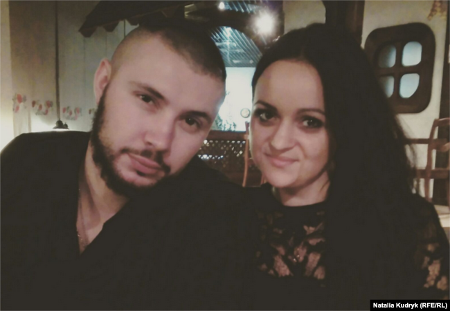 Віталій Марків з дружиною Діаною (фото із сімейного архіву)