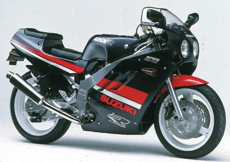 suzuki GSX - R 400-manual-taller-despiece-mecanica