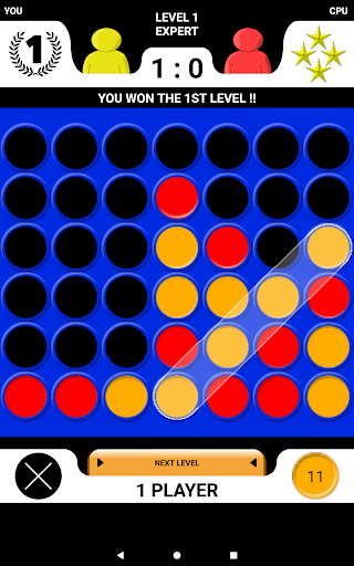4 in a row - Board game for 2 players 2.1 screenshots 7