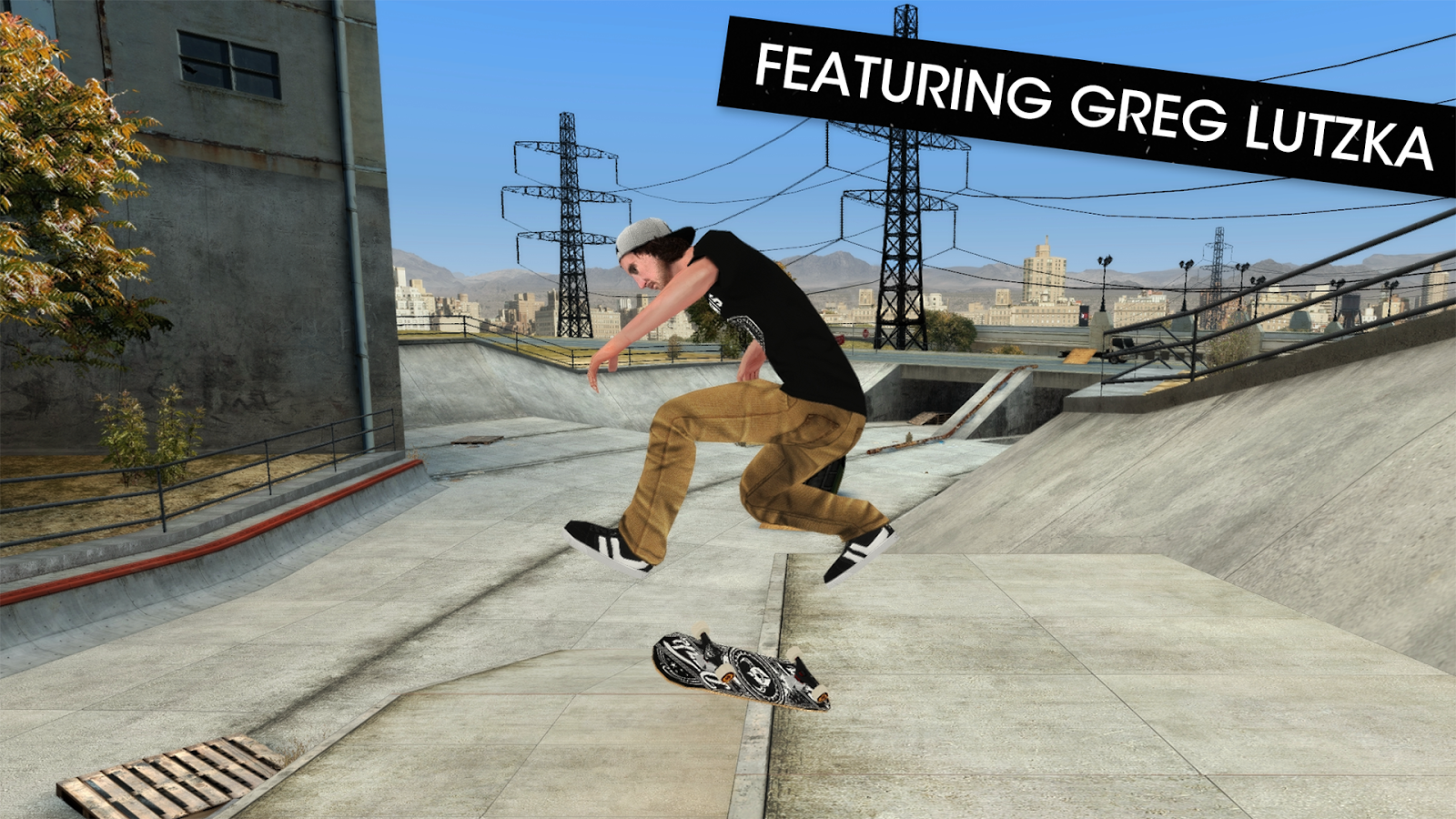 Skateboard Party 3 Lite Greg- screenshot
