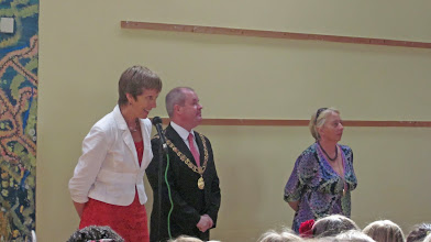 Photo: VISIT OF LORD MAYOR AND LADY MAYORESS