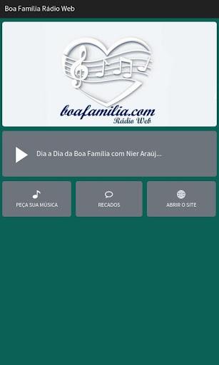 Boa Família Rádio Web