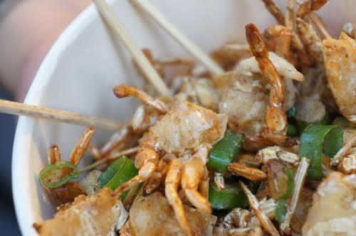 金山老街食記-金包里老街酥脆【香酥一口蟹】