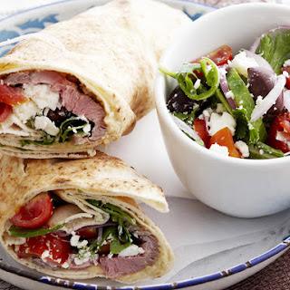 Lebanese Lamb Wrap