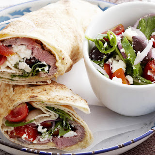 Lebanese Lamb Wrap.