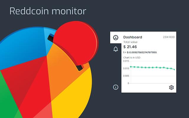 Reddcoin monitor