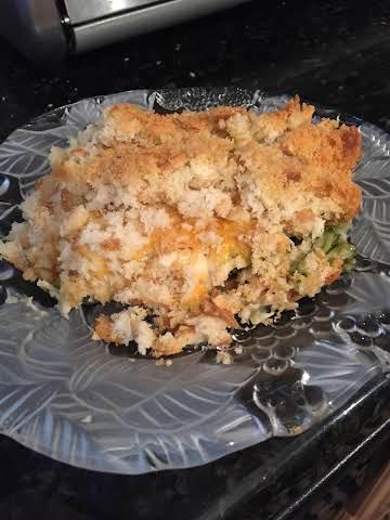 Easy Rotisserie Chicken Bake Casserole