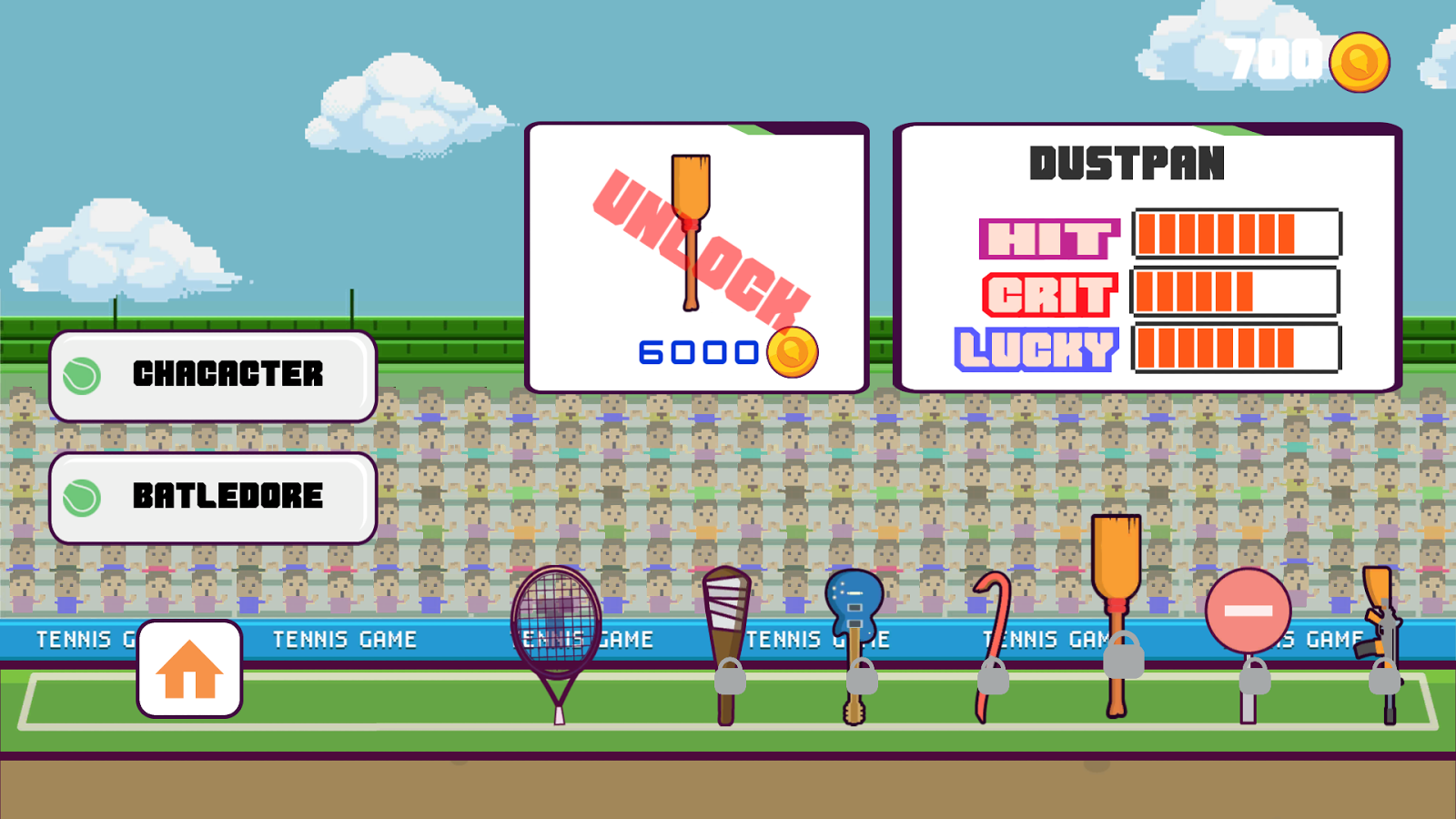 Tennis - Tap,Flick Ball Sports- screenshot