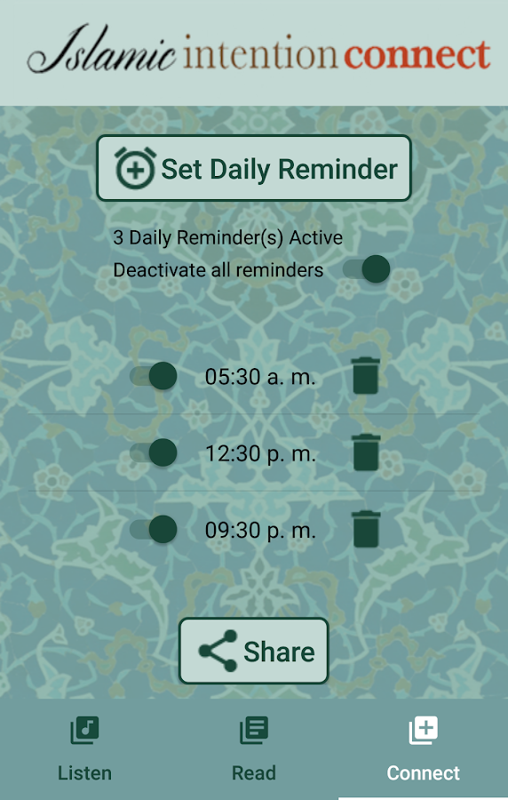 Islamic Intention Connect- screenshot