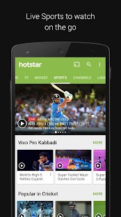 Download Hotstar For PC Windows and Mac apk screenshot 2