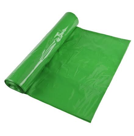 Sopsäck Polyprima 70l grön 25/