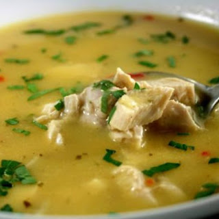 HCG DIET LEMON CHICKEN SOUP Recipe