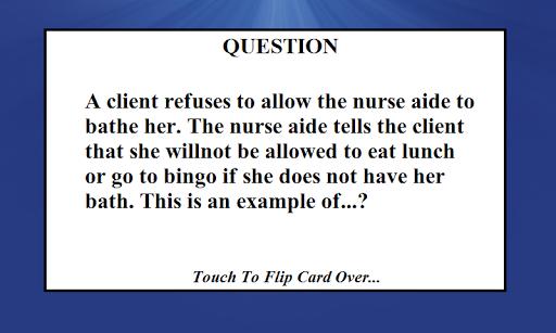 CNA Nursing Exam Test Full