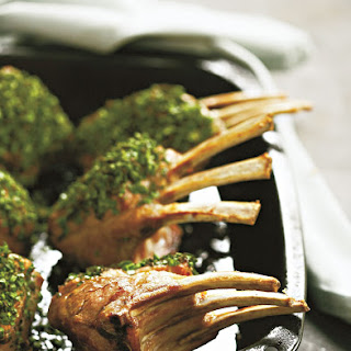 Mint Crusted Rack of Lamb Recipe
