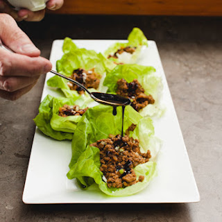 Hoisin Turkey Lettuce Cups
