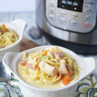 Instant Pot Crack Chicken Noodle Soup.