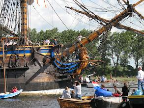 Photo: Boegbeeld van de Götheborg