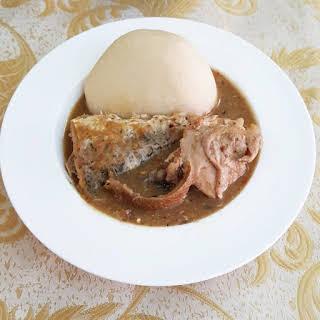 Ofe Nsala (White Soup).