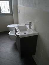 Photo: mobiletto e lavabo montati! Cerasa Slim