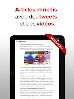 Screenshot of L'Entreprise: info des TPE PME