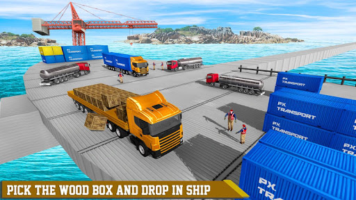 Transport Ship Euro Truck Cargo Transport Games modavailable screenshots 1
