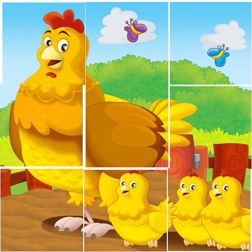 Animals Tile Puzzle For Kids ♥ (game)