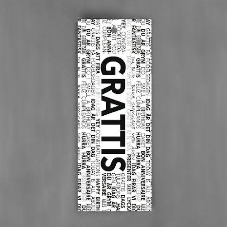 Hang-Tags - Grattis