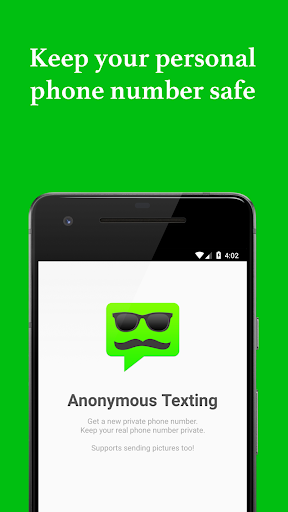 Anonymous Texting - Keep your real number private 2.0.2 screenshots 1