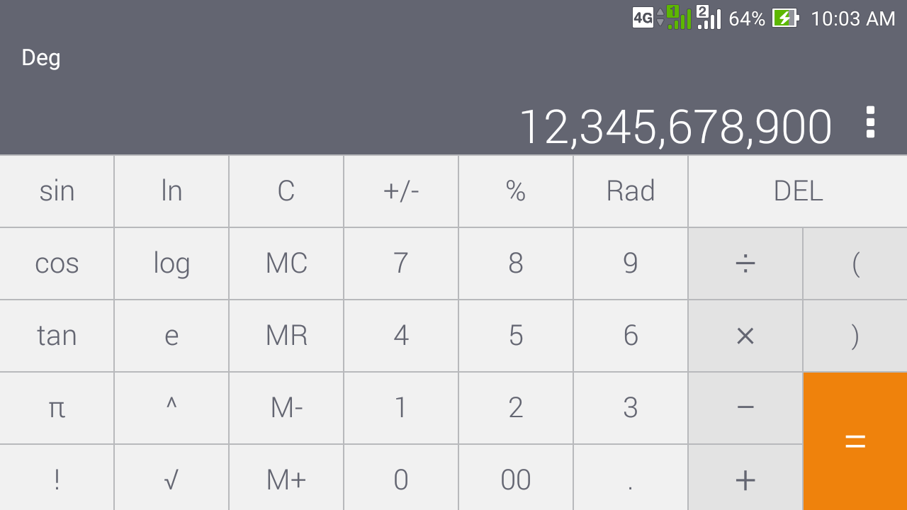 Screenshots of Calculator - unit converter for iPhone