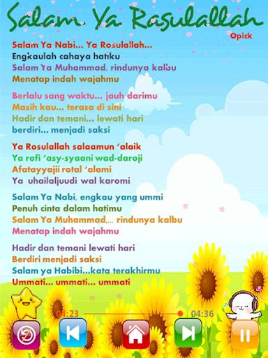 Lagu Sholawat Anak Lengkap filehippodl screenshot 7