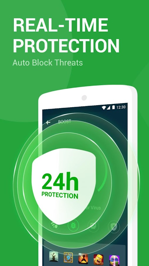 Power Security Anti Virus Phone Cleaner Amp Booster