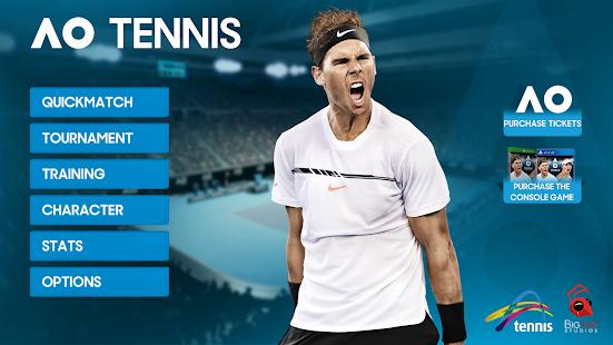 AO Tennis Game - náhled