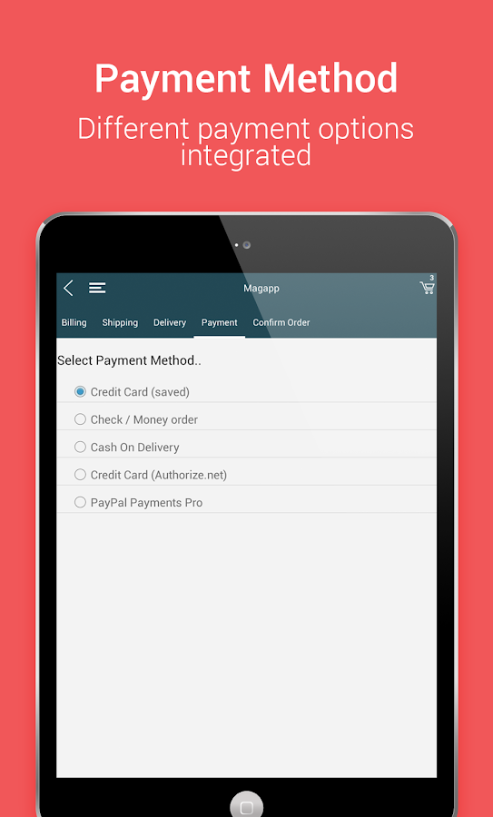 Niftyapp - Magento Mobile App- screenshot