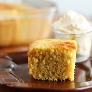 Cornbread (lightened up) and Whipped Honey Butter