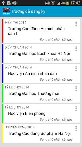 Tuyển Sinh 2016 (Cẩm Nang) screenshot 6