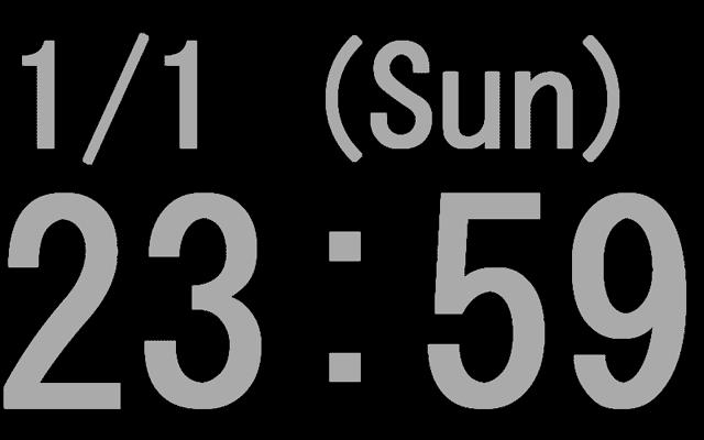 デジタル 時計 web