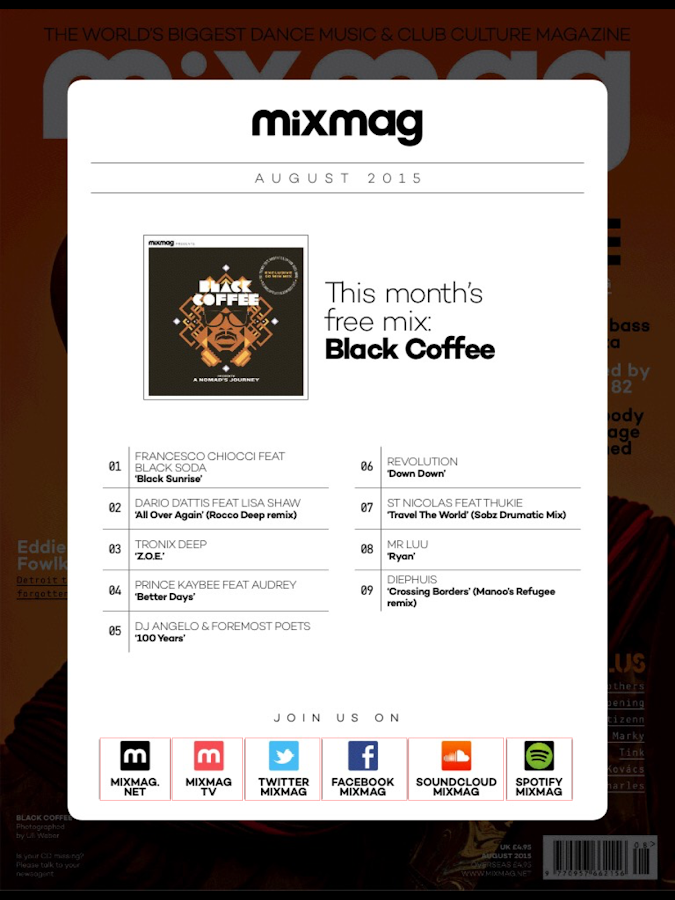 Mixmag Global- screenshot