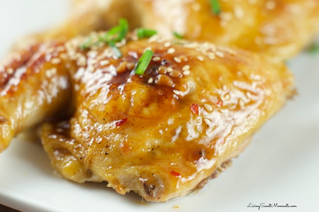 Chicken with Orange Plum Sauce Recipe