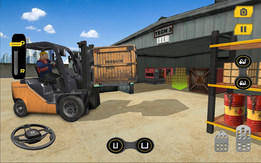 Real Forklift Driving Simulator Game 3D 1.3 screenshots 1