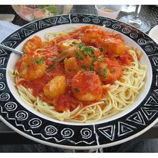 Seafood Marinara.