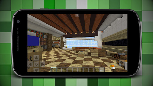 Download Best Redstone Mansion House Map for MCPE on PC & Mac with