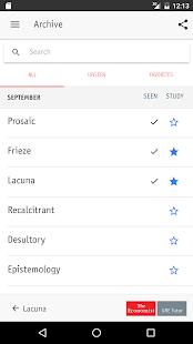 GRE Daily Vocabulary - náhled