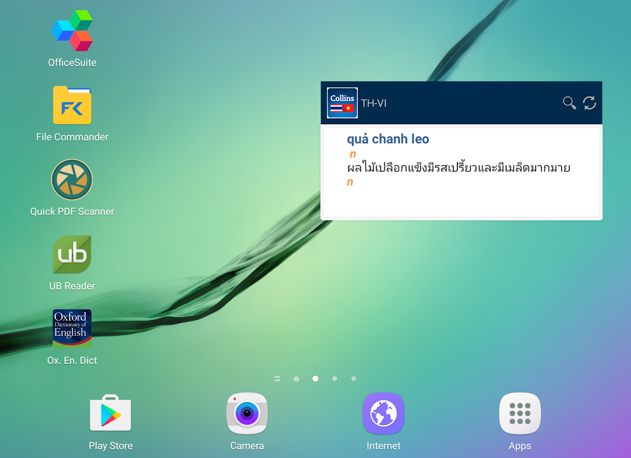 Thai<>Vietnamese Dictionary- screenshot
