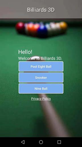 Billiards 3D screenshots 1