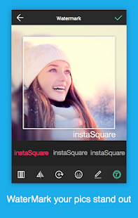 Insta square size - no crop- screenshot thumbnail